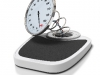 broken bathroom scales, overweight concept obesity